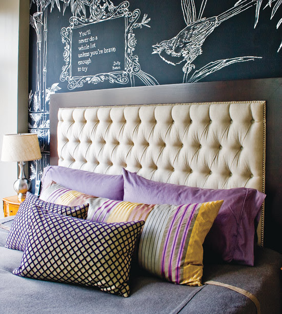 chalkboard_via styleathome_bedroom decor