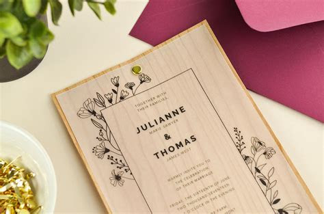 4 Ways to DIY Elegant Vellum Wedding Invitations   Cards