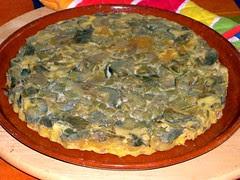 QUICHE DE ALCACHOFAS Y BACON