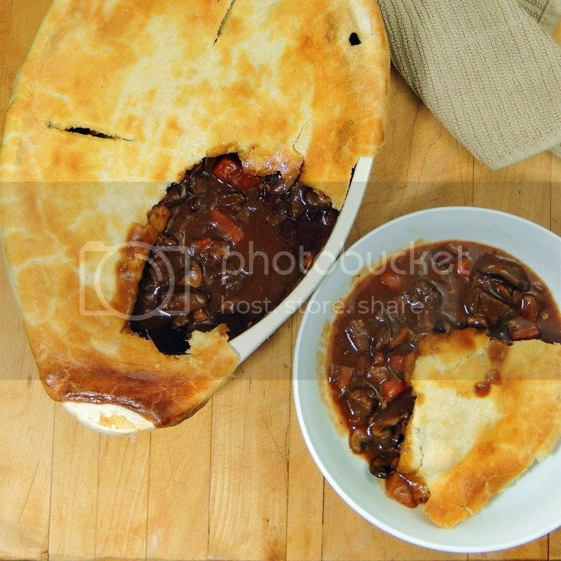 Beef and Mushroom Pot Pie
