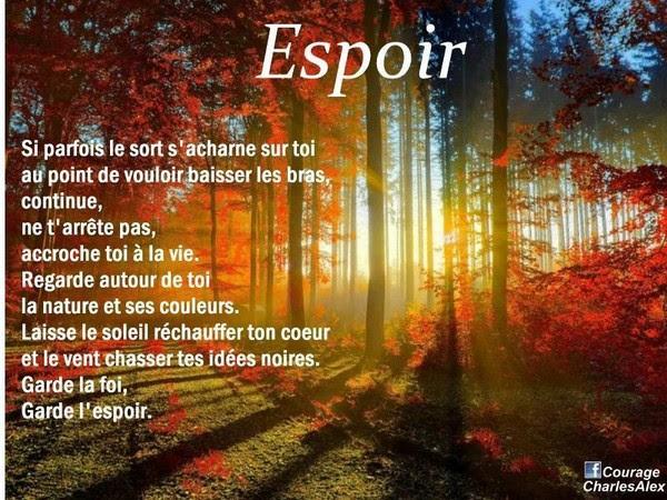 Image De Citation Espoir Citation Sur La Vie Et La Maladie