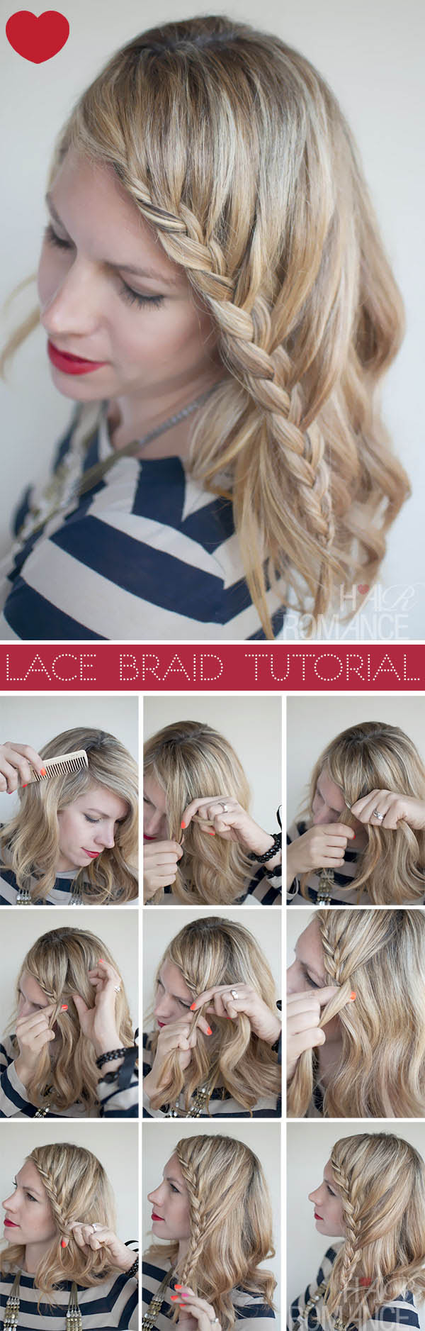 20 Most Beautiful Braided Hairstyle Tutorials For 2014 Pretty Designs