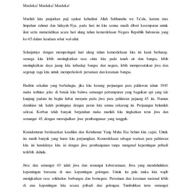 Contoh Teks Pidato Bahasa Sunda Tentang Kemerdekaan Blog Pendidikan