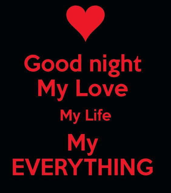 Goodnight My Love My Life My Everything Pictures Photos And Images