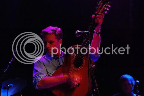Joey Burns of Calexico: photo by Michael Ligon