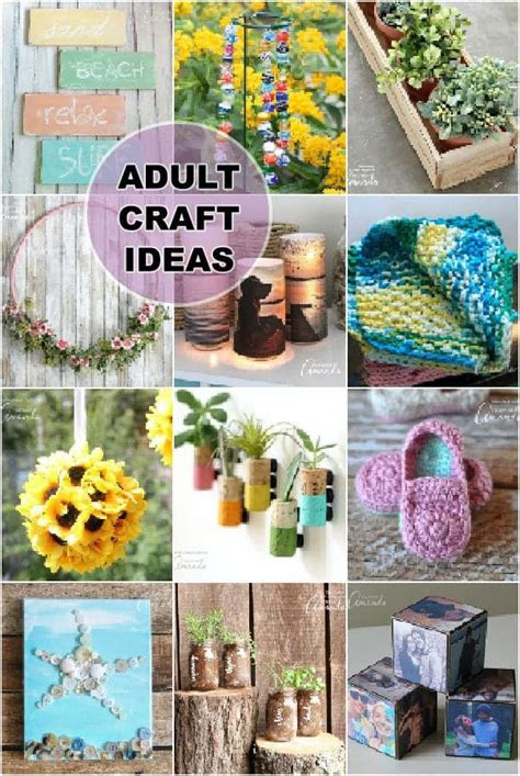 adult craft ideas lots  crafts  adults