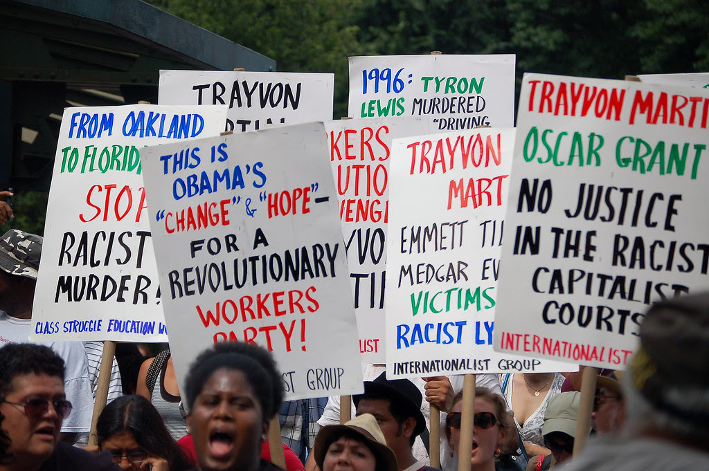 Rally for Trayvon Martin