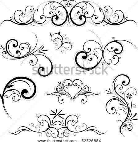 Swirls and flourishes on Pinterest   Baroque, Swirls and