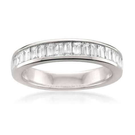 1 CT. T.W. Baguette Diamond Channel Set Anniversary Band