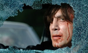 Javier Bardem in the Coen brothers' film No Country for Old Men.
