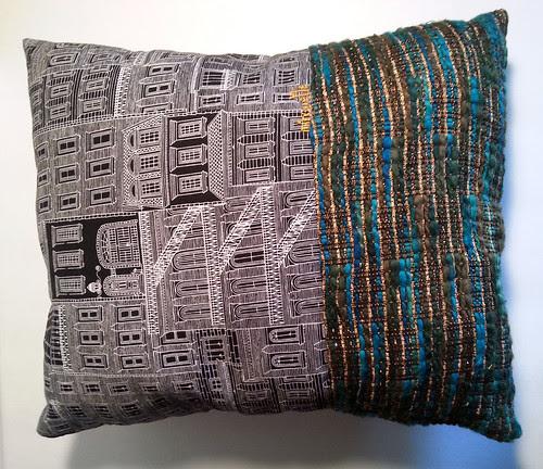 racoon pillow reverse