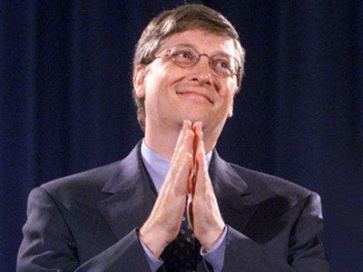 Microsoft founder and CEO Bill Gates