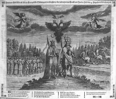 1652 Allegorie auf Friede und Gerechtigkeit (Herrscher als Friedensfreunde)