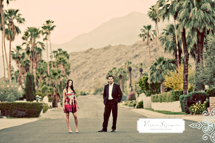 Korakia Pensione Palm Springs Engagement Session Diane And Kevin