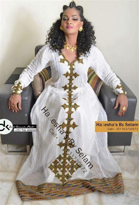 Image result for habesha dress   Zurias   Ethiopian dress