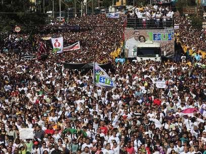 Devido ao evento, o Metrô e a Companhia de Engenharia de Tráfego de São Paulo (CET) farão uma operação especial neste final de semana Foto: Gabriela Biló / Futura Press