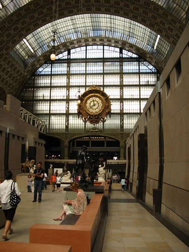 Reloj de la antigua estación de trenes, ahora museo Orsay