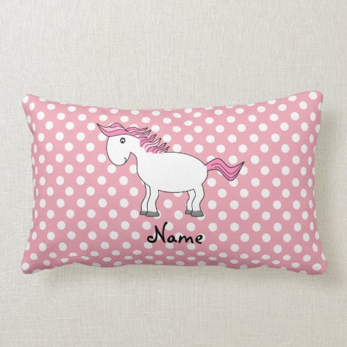 Personalized name horse pillows