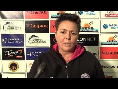 Δείτε τις δηλώσεις Διαβολεμένου και Τράντα μετά τον αγώνα Παναθλητικός-Παναθηναϊκός για το κύπελλο Ελλάδας γυναικών