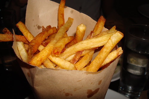 Fries at Comme Ca