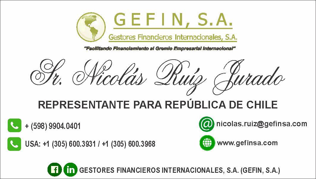 CHILE: (NICOLÁS RUÍZ)
