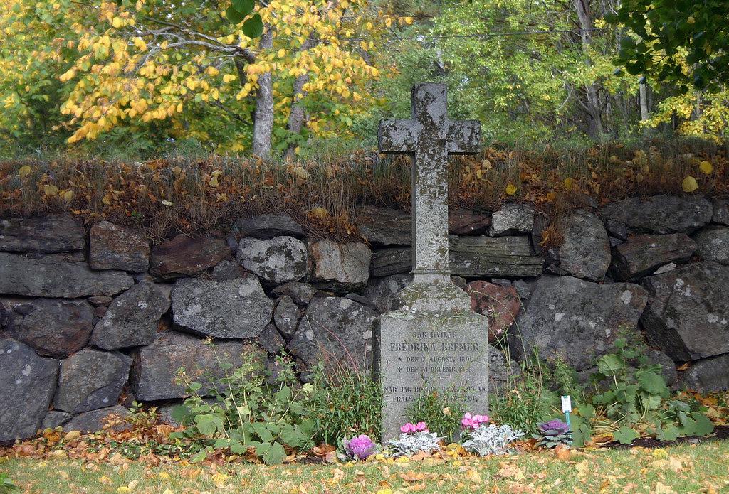 Fredrika Bremer Tombstone