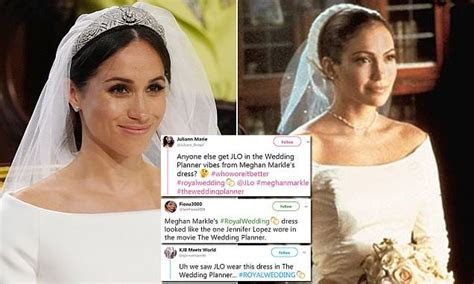 Meghan Markle?s wedding dress being compared to Jennifer
