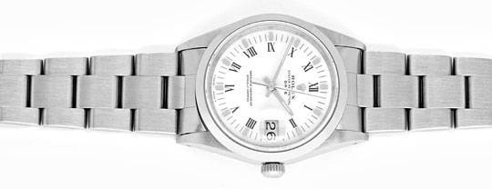 Foto 1, Rolex Date Oyster Perpetual Herrenarmbanduhr Ungetragen, U1677