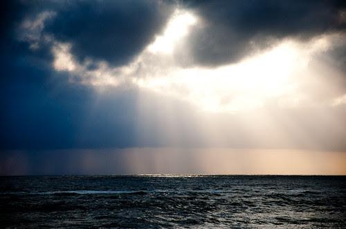Sun shines through the dark clouds /Sun Rise /Sun /Sun Shine/ Sun Set