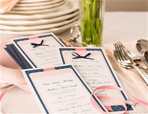 Create Your Own One of a Kind Wedding Programs   Get
