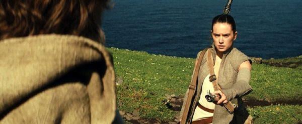 Daisy Ridley is back as Rey in STAR WARS: EPISODE VIII.