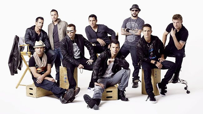 New Kids On The Block and Backstreet Boys are touring together