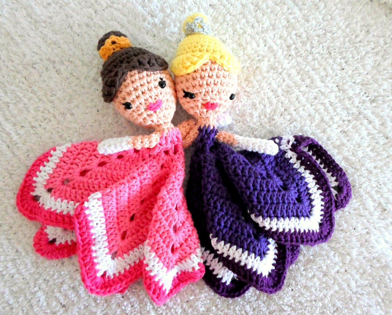 Princess Lovey Crochet Amigurumi Pattern PDF