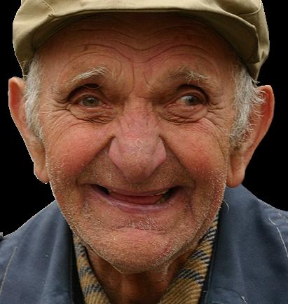Happy Old Man-crop