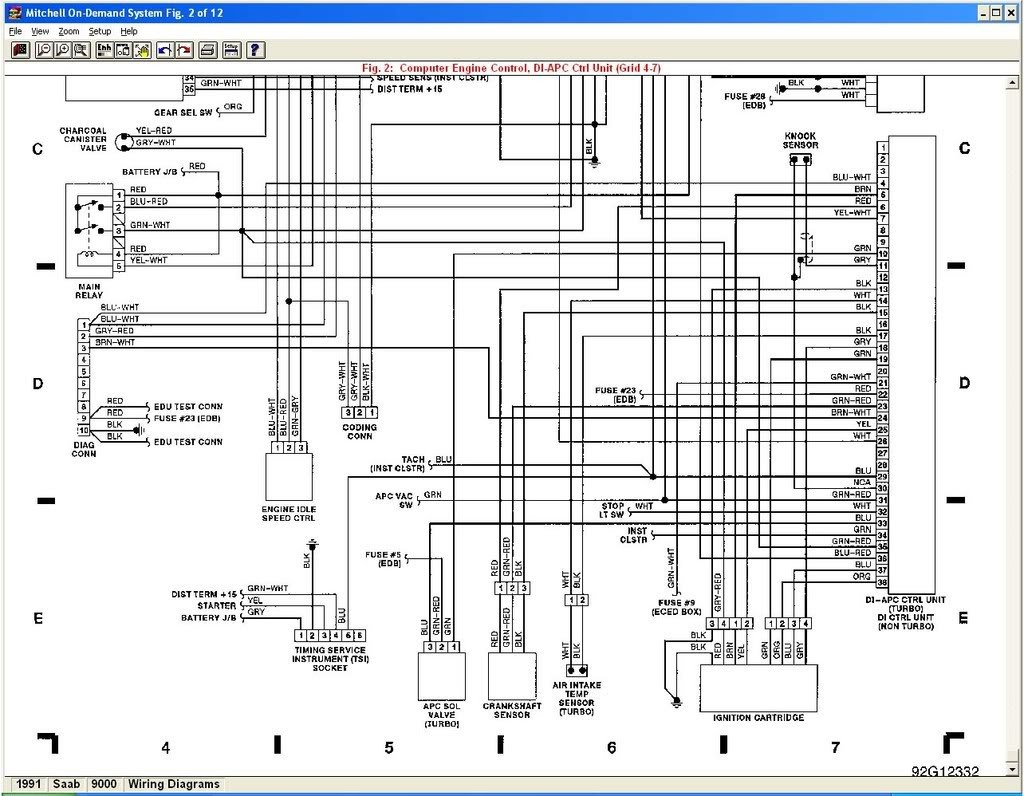 1991 Corvette Wiring Diagram - Wiring Diagram Schema