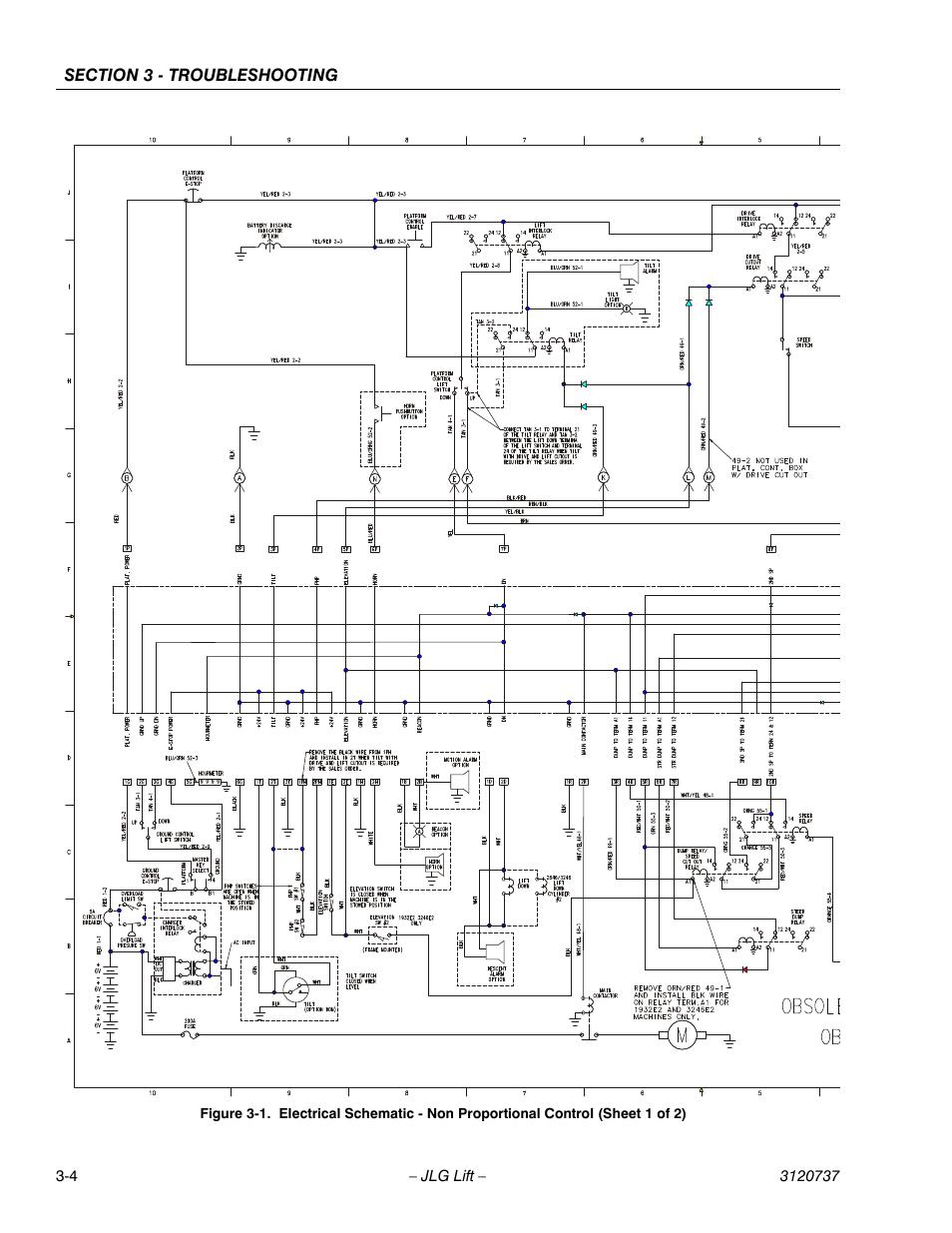 Jlg Lift Wiring Diagram