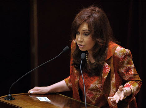 Cristina Fenández de Kirchner.| AFP