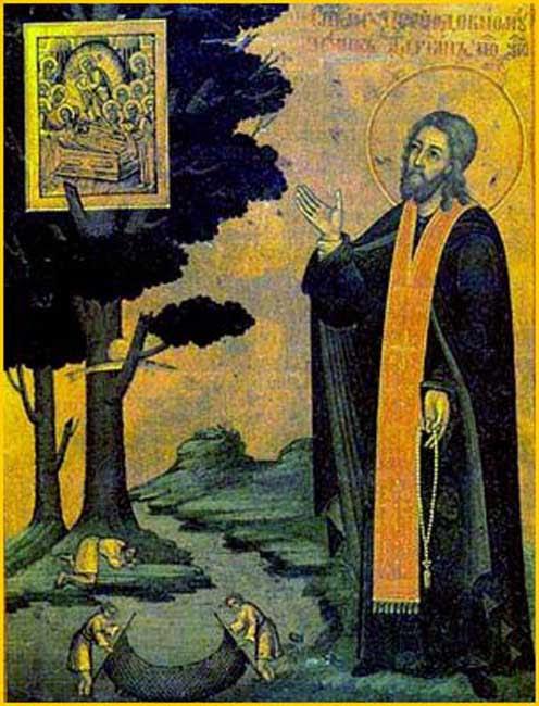 ST. ADRIAN, the Martyr, abbot of Poshekhonye