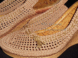 Restoration of shoes, woven sandals |  Fair Masters - handmade, handmade