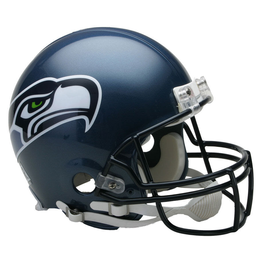 SEATTLE SEAHAWKS 0311 RIDDELL NFL THROWBACK AUTHENTIC FOOTBALL HELMET  eBay