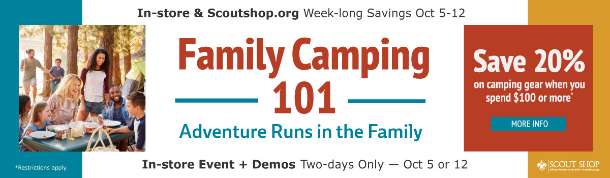 Family Camping 101: Adventure Runs in the Family!