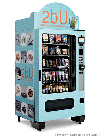 Innovation in vending machines - Gluten-free and Kosher on ...