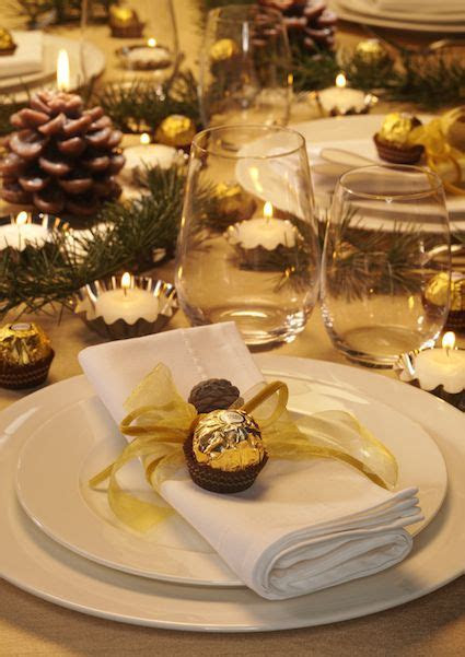 Ferrero Rocher decora la tua tavola   Wedding   Pinterest