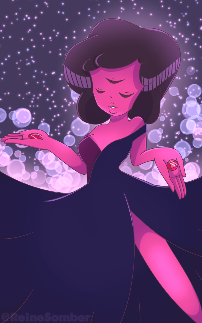 Finally got to draw Garnet ~ I had so much fun with this, her colors and her design is just ugh <3 Since I started watch SU , she's been one of my fav gems ~ I really hope ya'll like it ; ;...
