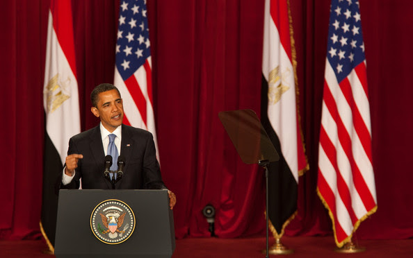 President Barack Obama Makes Key Speech In Cairo