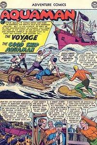 Adventure #239 Aquaman Splash Page