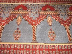 Gaddafi Mosque Carpet