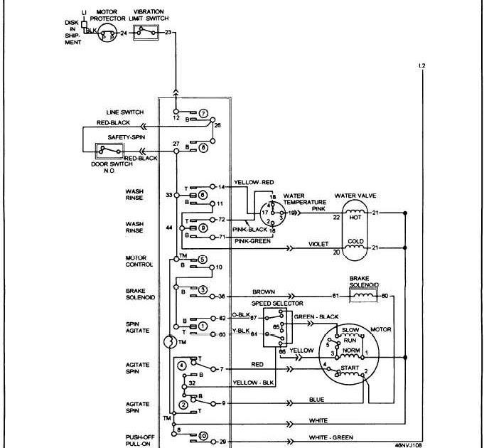 Wiring Diagram Washing Machine