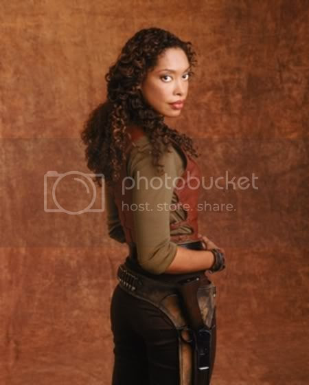 Gina Torres as 'Zoë Washburne' from FIREFLY [click to enlarge]