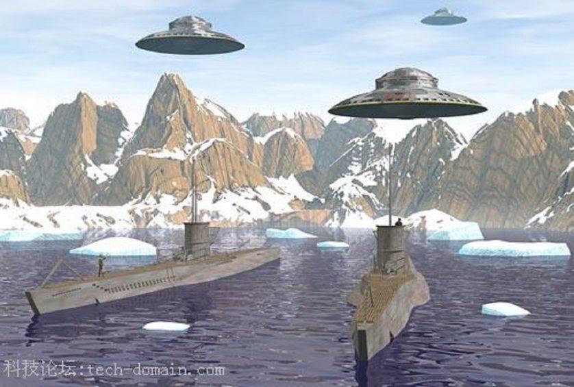 rumores conspiracao OVNIs e nazistas 5
